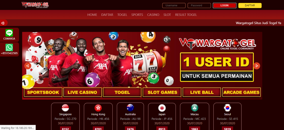Agen Togel Tepercaya Dan terbesar Indonesia!Daftar Warga Togel